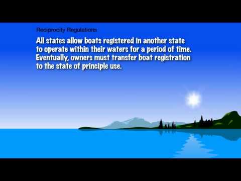 Boat Registration Requirements 1.6.1