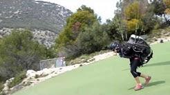 Robert QUICOT   parapente Roquebrune Cap Martin le 4 Avril 2017    MONACO