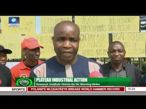 News Across Nigeria: University Staff, Contractors Protest Against Alleged Corrupton
