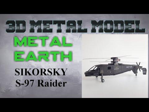 Metal Earth Build - Sikorsky S-97 Raider