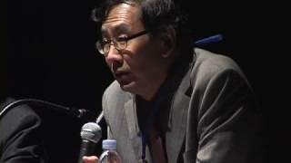 あいちトリエンナーレ2010 芸術監督 建畠哲氏