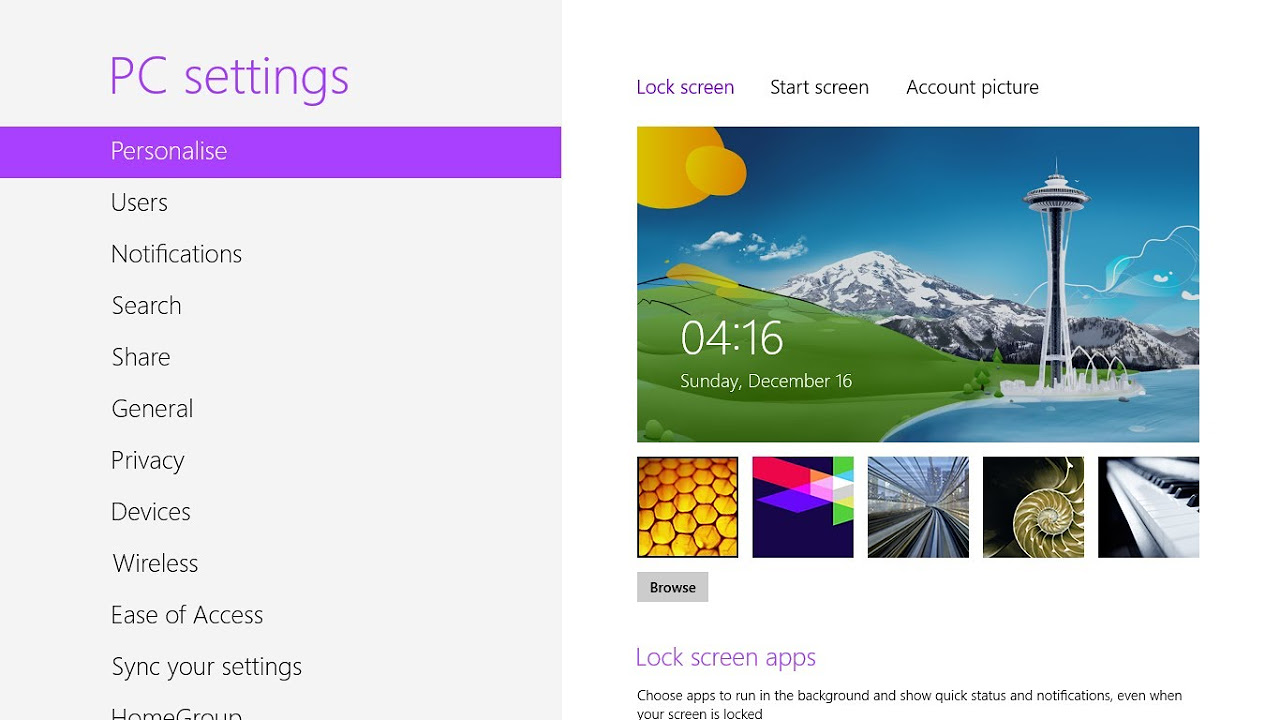 Windows 8 background image wont change -  Fix Can T Change Lock Screen Background Image And User Account Picture In Windows 8 And Later Askvg