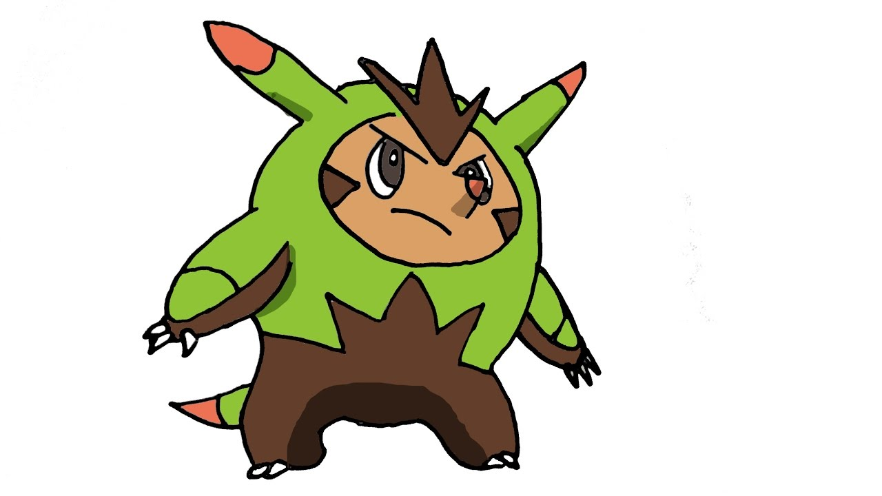 How To Draw Quilladin (POKEMON) - YouTube