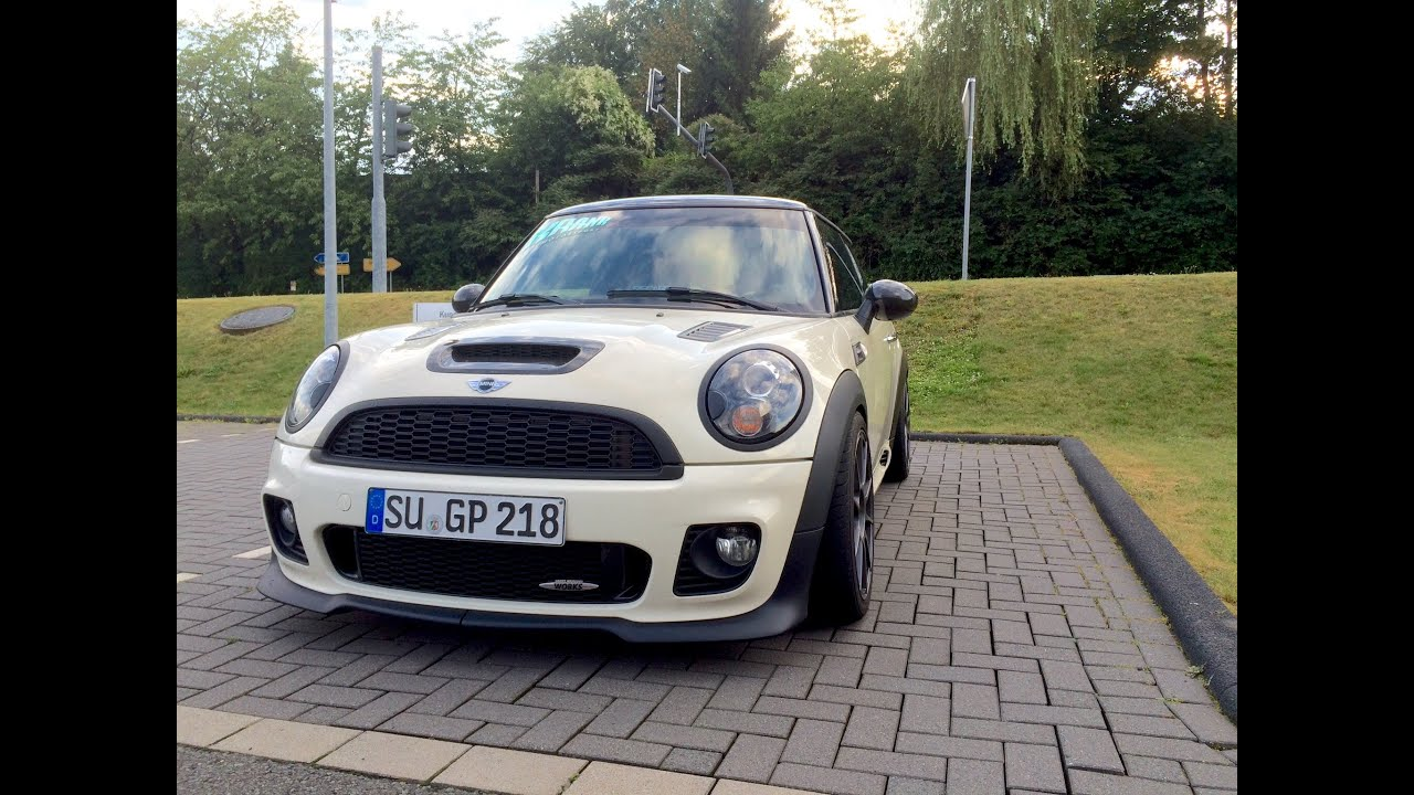mini r56 jcw sound serie stock exhaust youtube. Black Bedroom Furniture Sets. Home Design Ideas