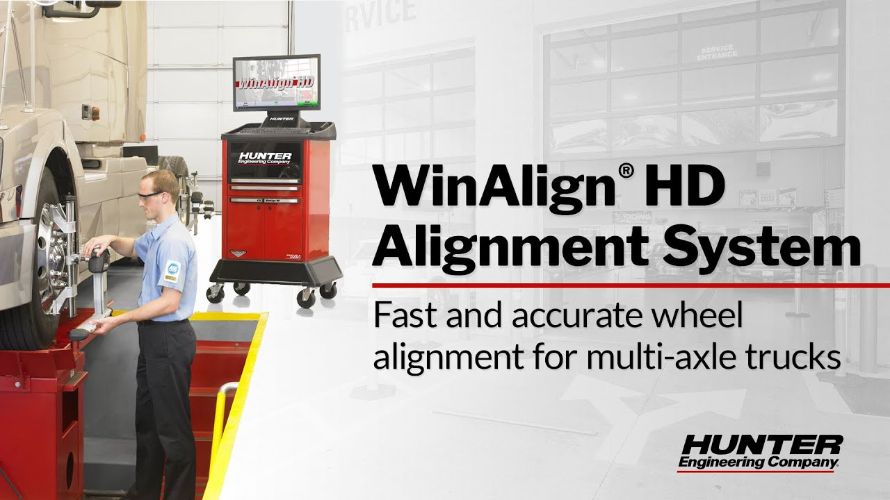 Winalign Hd Alignment System Trailer Alignment Youtube