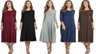 Long Maxi Dresses Review | Linen Vintage Dress Patchwork Casual Loose Boho