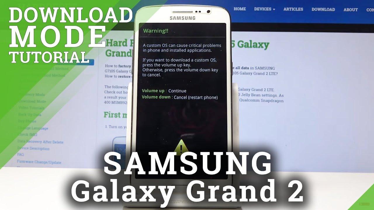 Samsung Galaxy Grand 2 Download Mode