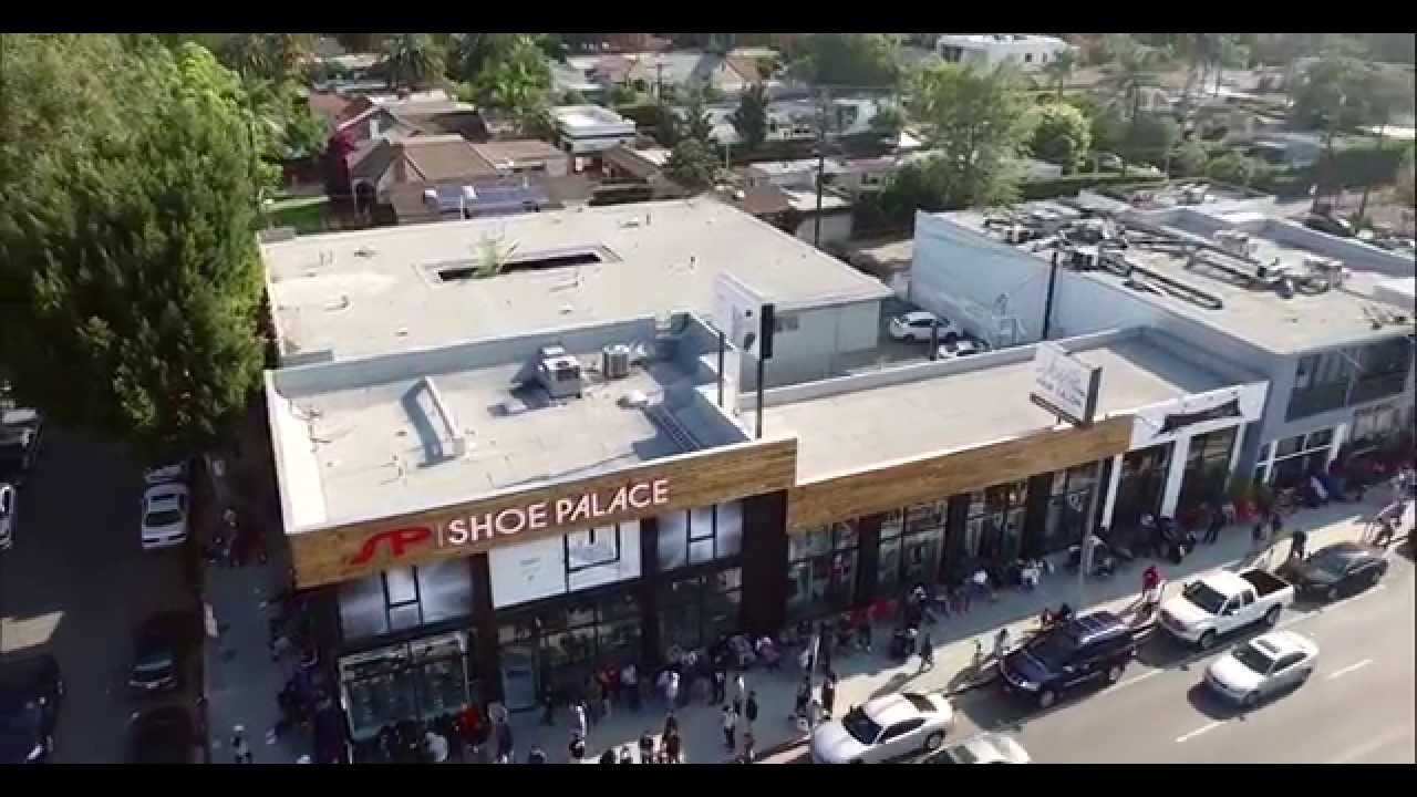 073e2625f adidas Yeezy Boost 350 Low X  SPMelrose Grand Opening Recap. Shoe Palace