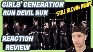 Girls' Generation (소녀시대) - Run Devil Run MV REACTION 리액션…