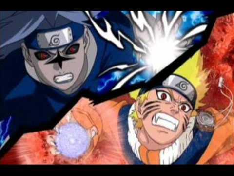 Naruto Ultimate Ninja Storm - Crimson Spiral and Black Thunder