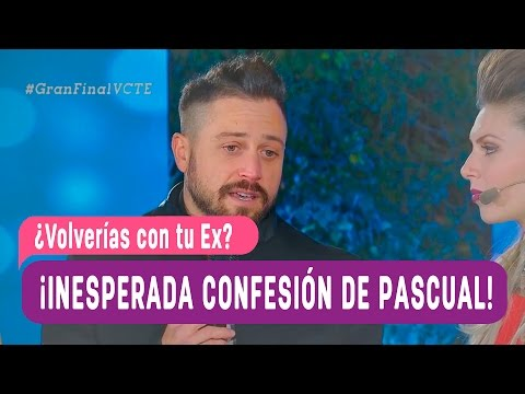 ¿Volverías con tu Ex? - ¡Pascual hizo una inesperada confesión!