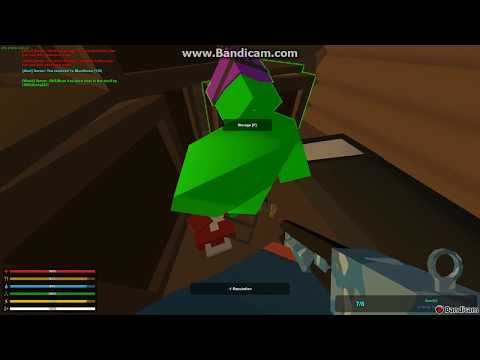 Unturned Glitch for raiding bases with only 2 small plates Nelson pls fix!!!