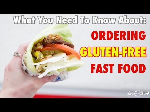 How To Order Gluten-Free Fast Food Like A Pro!