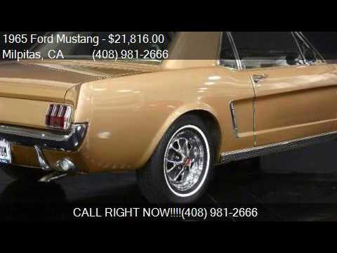 1965 Ford Mustang  for sale in Milpitas, CA 95035 at NBS Aut