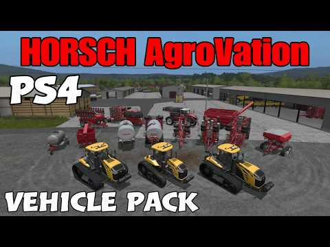 Farming Simulator 17 PS4: A Guide to... HORSCH AgroVation (Vehicle Pack)