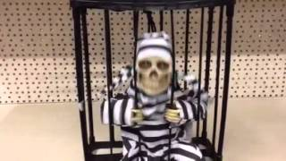 Scary Caged Convict Decoration (11435)  from www.buyfromhome.co.uk