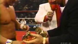 the ringmaster s debut wwf monday night raw 1 8 96