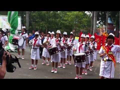 Liên Đội Nguyễn Văn Phú Quận 11 - Bàn Diễu Hành Hội Thi Nghi Thức Đội TP 2012