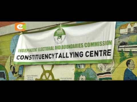 IEBC preparation material distribution, staff, and accreditation
