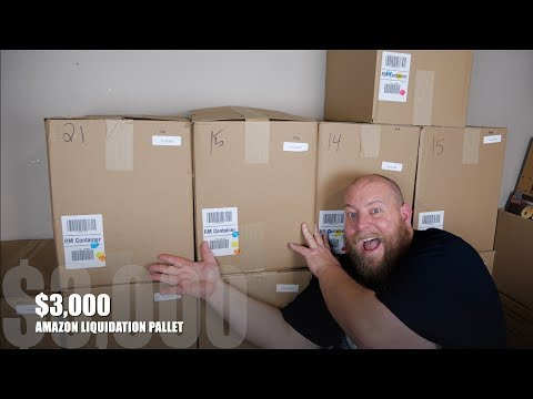 THE FIRST $3000 Amazon Customer Returns Pallet On The Channel + It&39;s a Good One