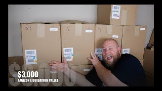 I bought a $3,112 Amazon Customer Returns Pallet / Mystery Boxes + FIRST $3,000+  PALLET!