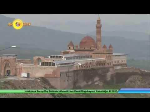 Ishakpaşa Sarayı Dış Bölümler Ahmedi Hani Camii Doğubayazıt Kalesi Ağrı 4K UHD