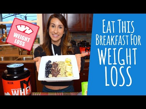 Eat This High-Protein Breakfast For Weight Loss | Tiger Fitness