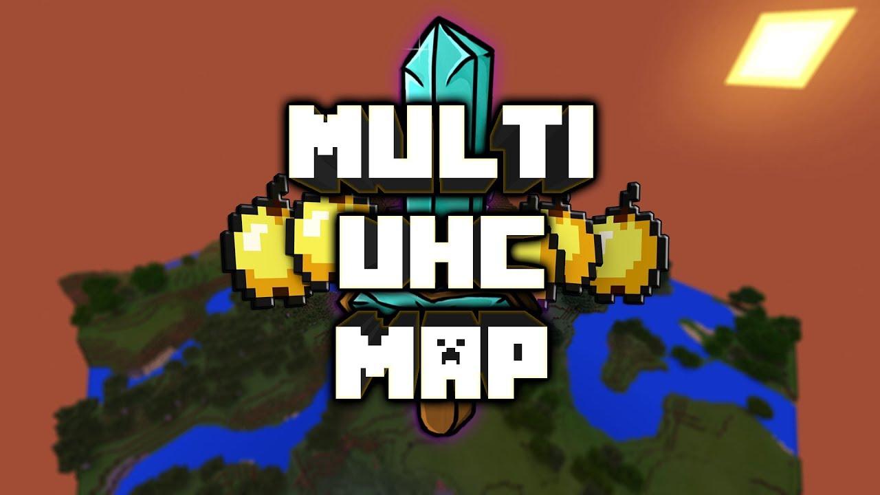 Minecraft: Multi UHC Bedrock Edition Map W/Download