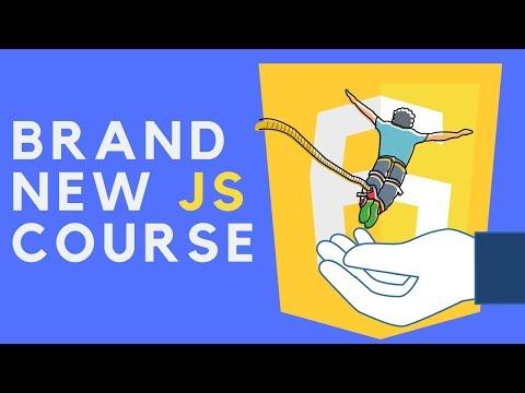 My Brand New JavaScript Course! thumbnail