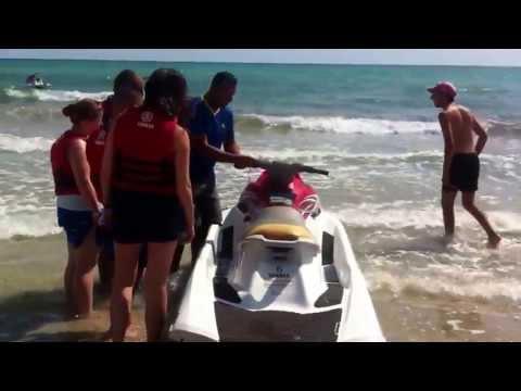 Jet ski Djerba avec Moez rassaa