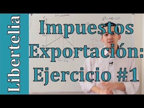 Ejercicio impuesto a las exportaciones con consumo local fijo | Microeconomía | Libertelia.org