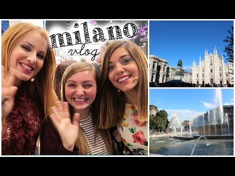 [ M I L A N O ] day 1 | California bakery &  Vogue Fashion Night out con Gabry e Vane!