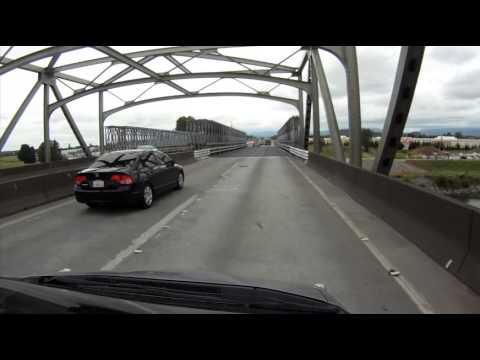Temporary Bridge Opens