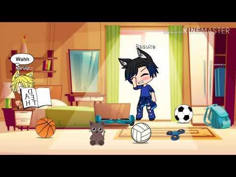 Sasuke X Naruto || Gacha Life || Yaoi || Read The Description