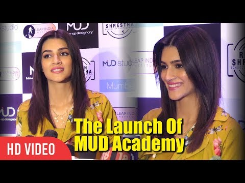 Kriti Sanon At The Launch Of MUD Academy
