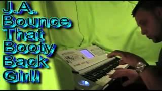"JA The DragAn -  ""Bounce That Booty Back Girl"" Hip Hop Instrumental Beat Making"