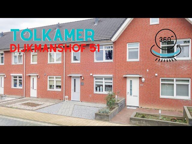 360 graden video YouTube - Dijkmanshof 51 Tolkamer