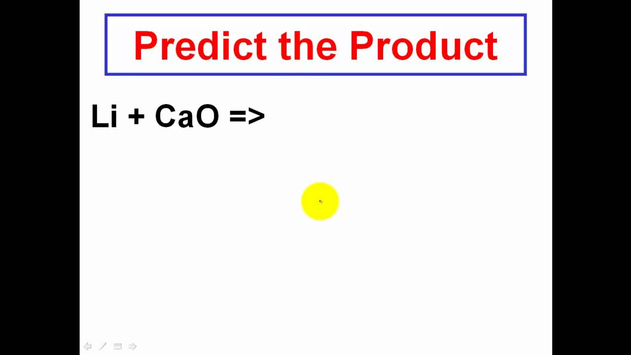 Solving Chemical Reactions Predicting the Products CLEAR – Predicting Products of Chemical Reactions Worksheet