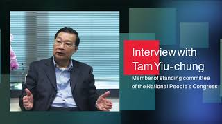 Interview with Tam Yiu-chung