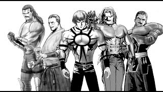 drawing my favourite KOF characters in sketchbook pro
