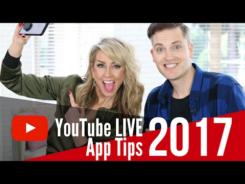 YouTube Live App Tips - How to Use YouTube Live from Your SmartPhone and Increase Subscribers