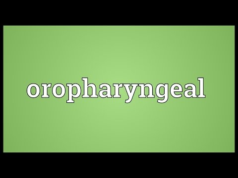 Header of oropharyngeal