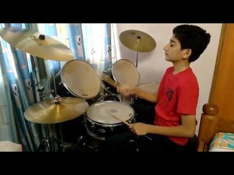 Atharva Gaikwad playing drums..jai jai Maharashtra