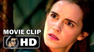 BEAUTY AND THE BEAST Movie Clip - Belle Meets Lumière (2017) Emma Watson Disney Movie HD