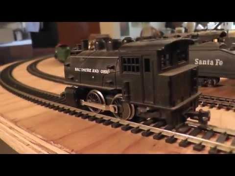 Baltimore & Ohio Rivarossi Italy Plastic Dummy 0-4-0 HO Train