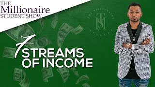 7 Streams Of Income That Will Lead You To Financial Freedom - Sashin Govender