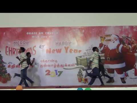 Thenaai inikka Oru seithiya Christmas dance by Inter Boys with Teacher Grace ag Church