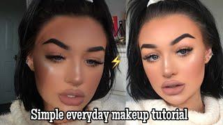 Easy everyday makeup tutorial | meg feather