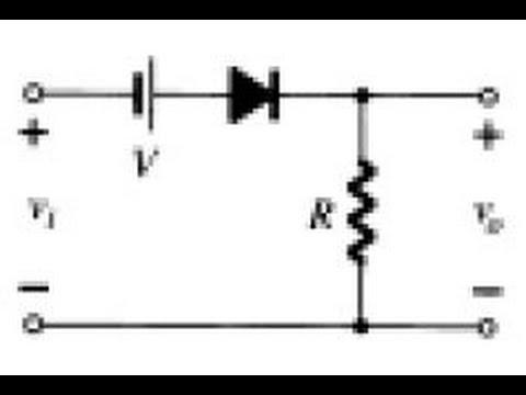 Elektronik Ders 11 Kırpıcı Devreler (Clippers) Varyasyon 6 (negatif-seri-voltaj kaynaklı-yön2)