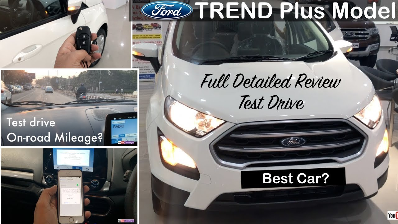 Ford Ecosport 2017 Trend Plus Model Review  Interior,Exterior,Test Drive